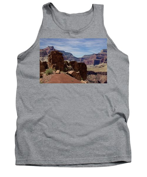 Rock Formations In The Grand Canyon  Tank Top