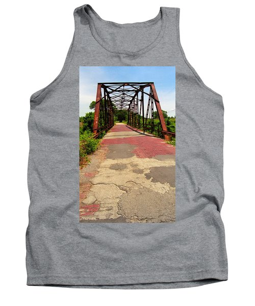 Route 66 - One Lane Bridge Tank Top