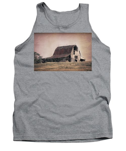 Tank Top featuring the photograph Rustic Barn by Tom Mc Nemar