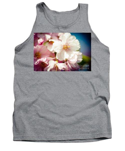 Sakura Blossoms Pink Cherry Artmif.lv Tank Top