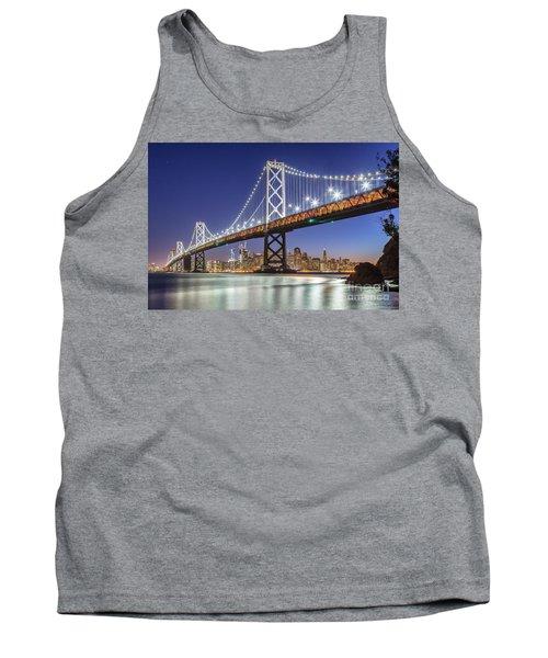San Francisco City Lights Tank Top by JR Photography