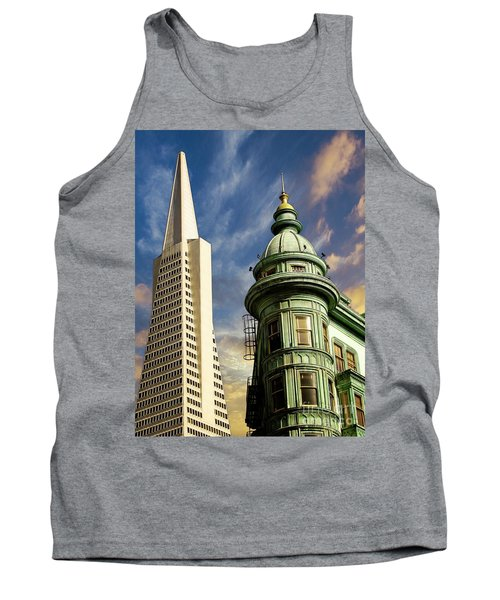 San Francisco Then And Now Tank Top