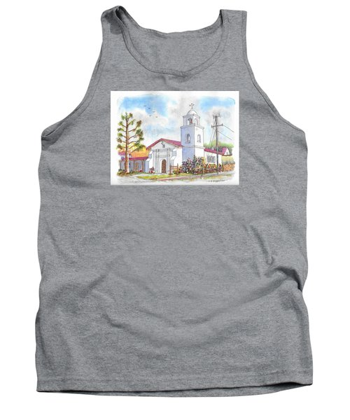 Santa Cruz Mission, Santa Cruz, California Tank Top