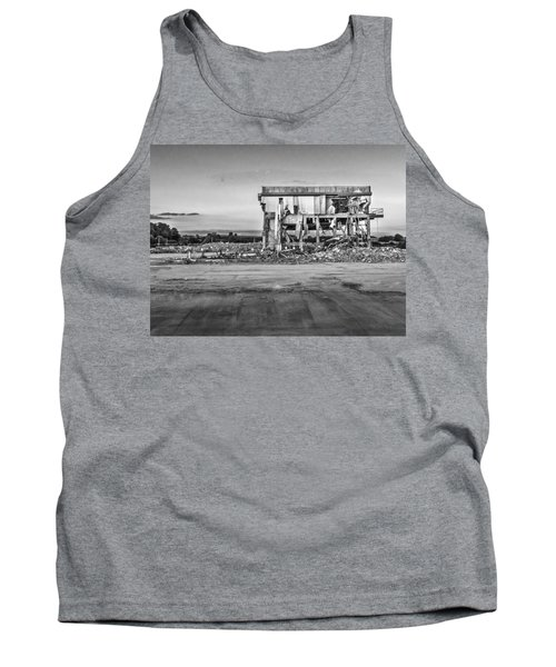 Tank Top featuring the photograph Seen Better Days by Nick Bywater