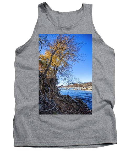 Tank Top featuring the photograph Shoreline by Alan Raasch