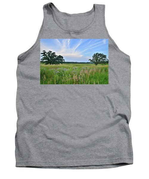 Silver Creek Conservation Area Sunset Tank Top