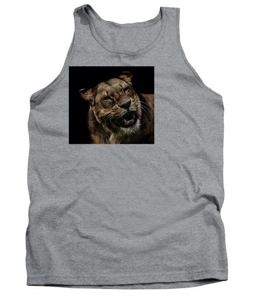 Smile Tank Top by Martin Newman