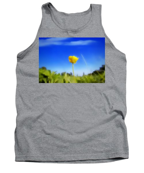 Solitary Flower Tank Top