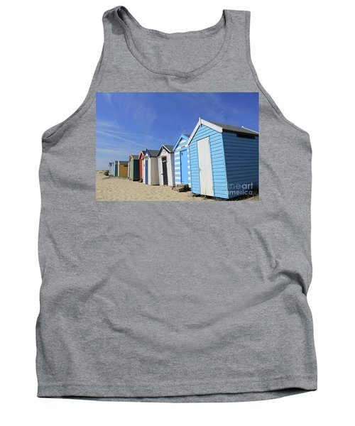 Southwold Beach Huts Tank Top
