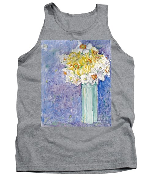 Spring Blossoms Tank Top by Jan Bennicoff