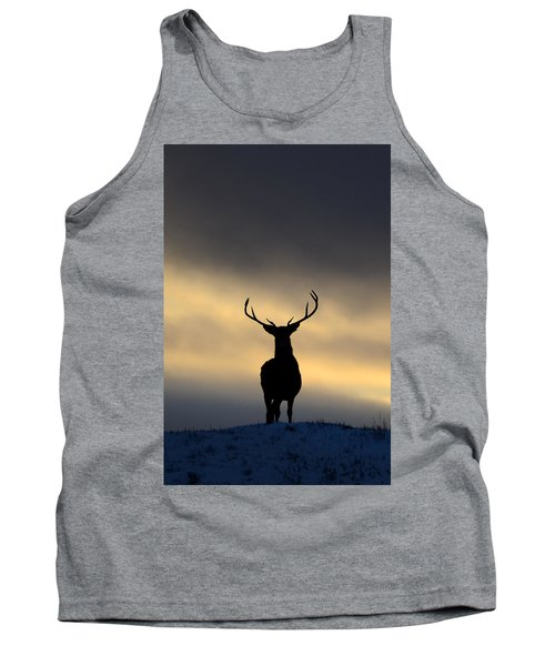 Stag Silhouette  Tank Top