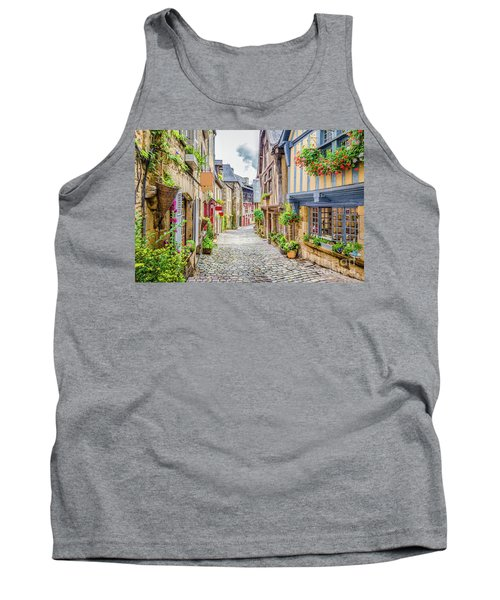 Streets Of Dinan Tank Top by JR Photography