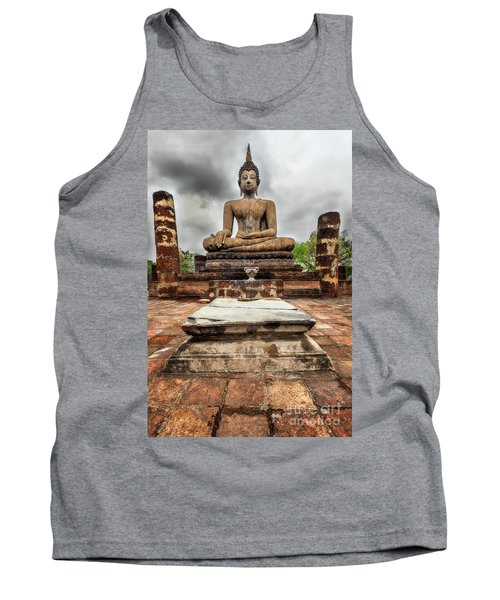 Tank Top featuring the photograph Sukhothai Historical Park by Adrian Evans