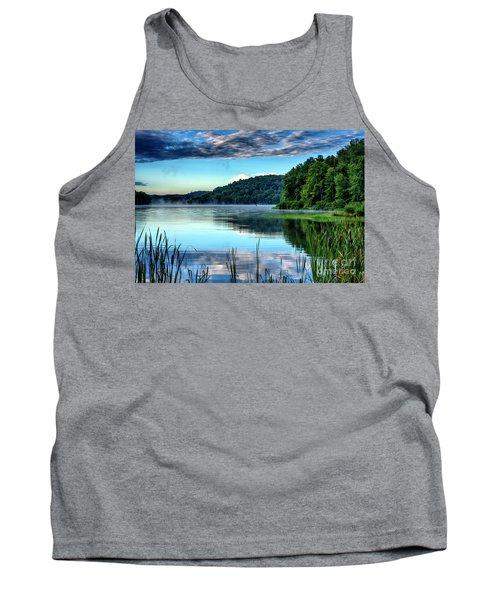 Summer Morning On The Lake Tank Top