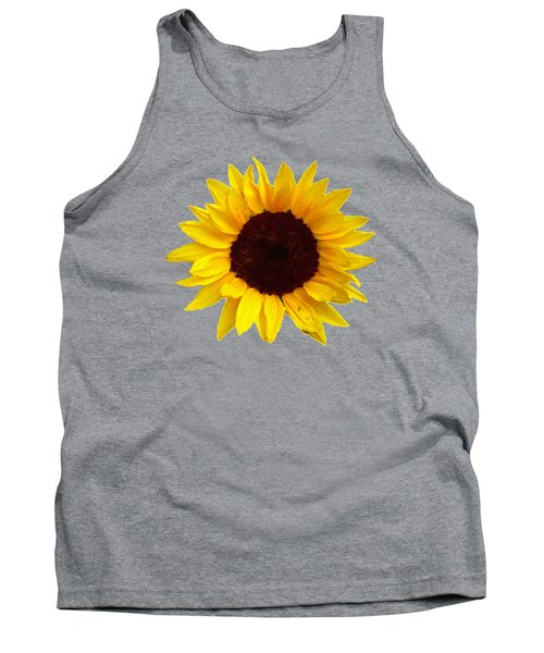 Tank Top featuring the photograph Sunflower by Jim Sauchyn