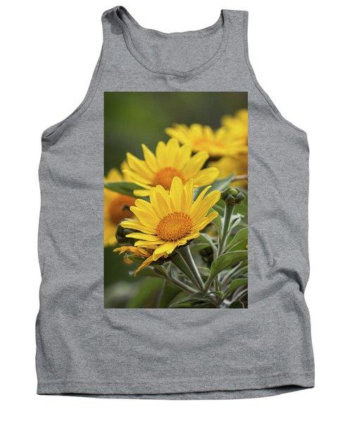 Tank Top featuring the photograph Sunflowers  by Saija Lehtonen