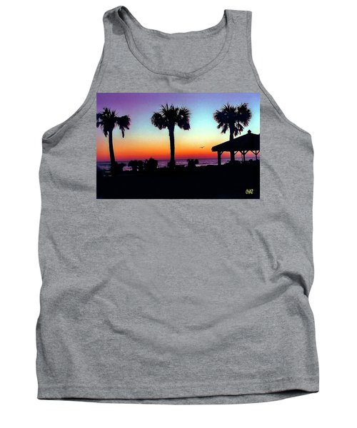 Sunrise On Ormond Beach Tank Top