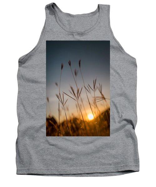 Sunset Grass Tank Top