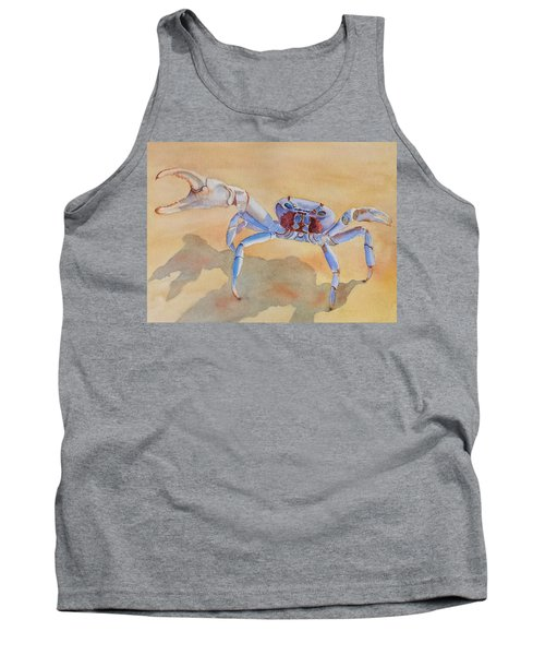 Tank Top featuring the painting Talk To The Claw by Judy Mercer