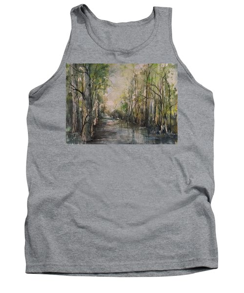 Bayou Liberty Tank Top by Robin Miller-Bookhout