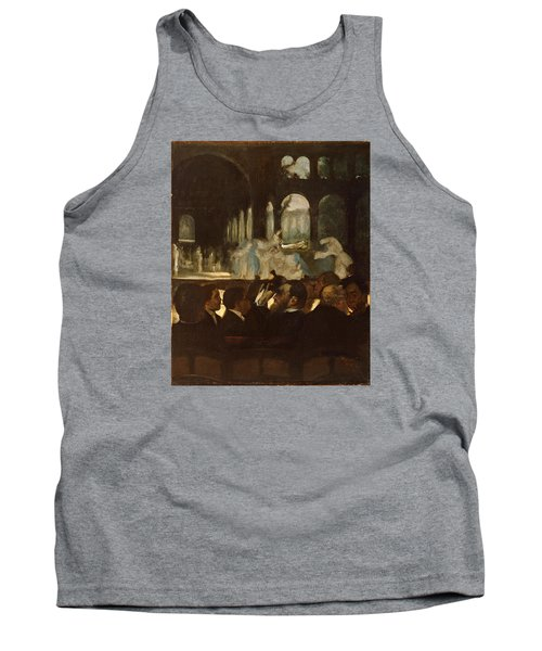 Tank Top featuring the painting The Ballet From Robert Le Diable by Edgar Degas