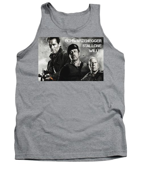 The Expendables 2 Tank Top