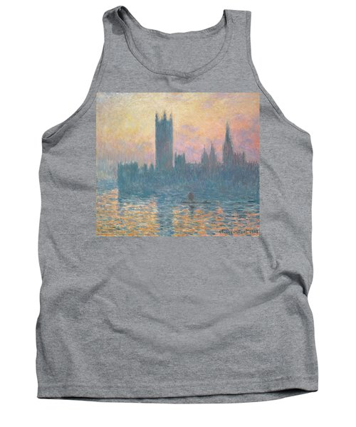 The Houses Of Parliament  Sunset Tank Top