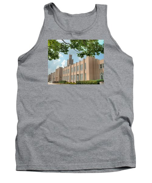 Tank Top featuring the photograph The School On The Hill by Mark Dodd