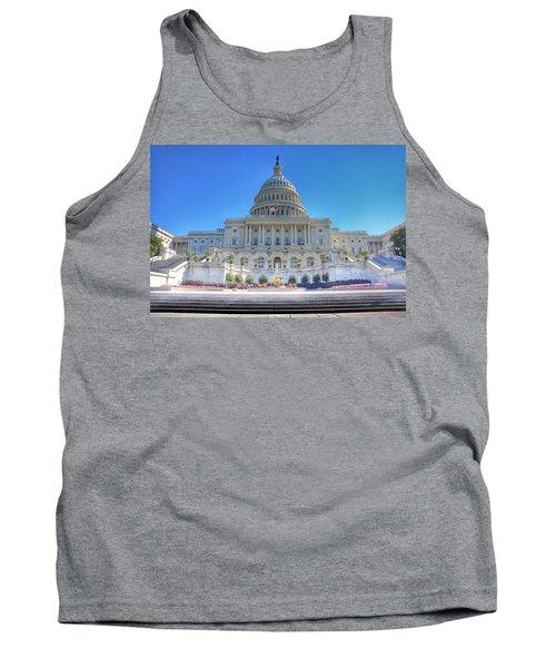 The Us Capitol Building - Washington D.c. Tank Top