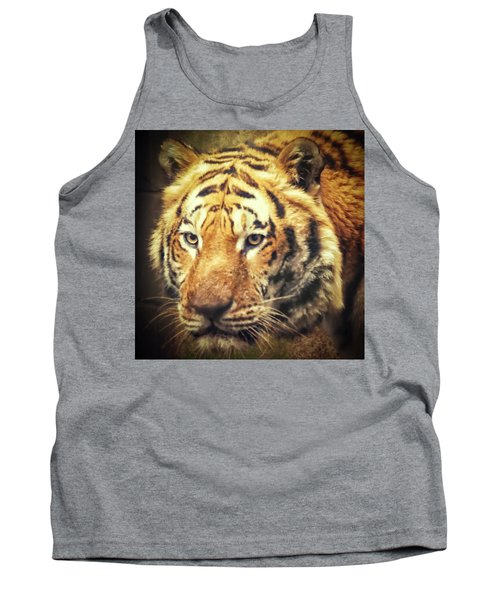Tiger Portrait Tank Top