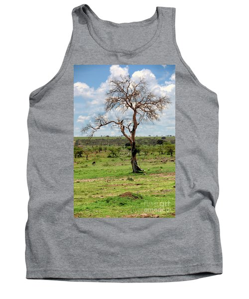 Tank Top featuring the photograph Tree by Charuhas Images