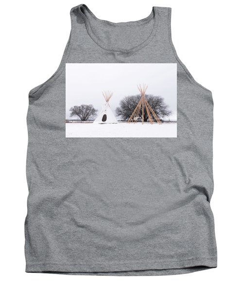 Two Tipis Tank Top
