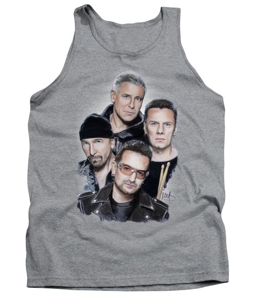 U2 Tank Top by Melanie D
