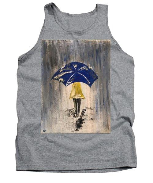 Umbrella Girl Tank Top