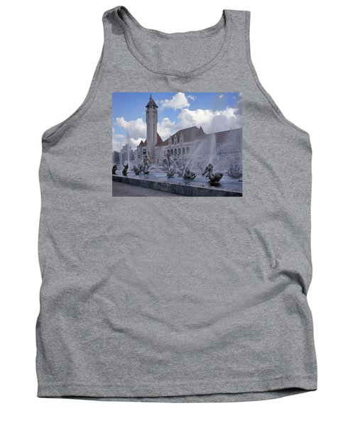 Tank Top featuring the photograph Union Station - St Louis by Harold Rau