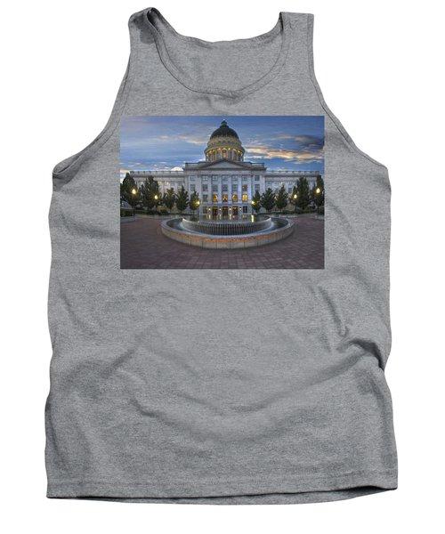 Utah State Capitol Building Tank Top