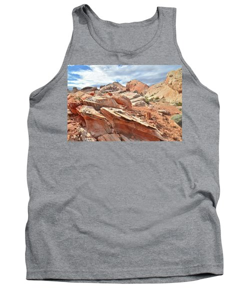 Valley Of Fire High Country Tank Top by Ray Mathis
