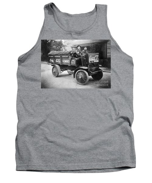 Vintage Coke Delivery Truck Tank Top