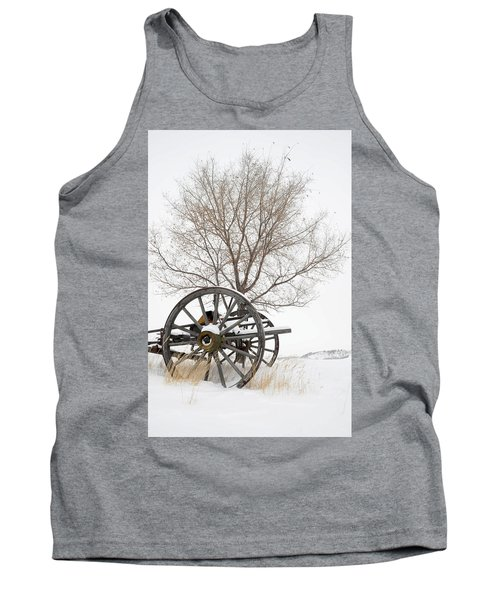 Wagon In The Snow Tank Top