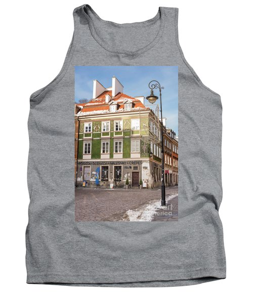 Tank Top featuring the photograph Warsaw, Poland by Juli Scalzi