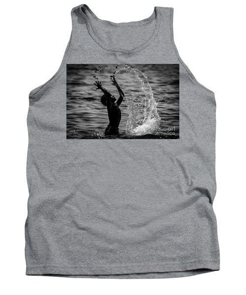 Water And Stones 3 Tank Top