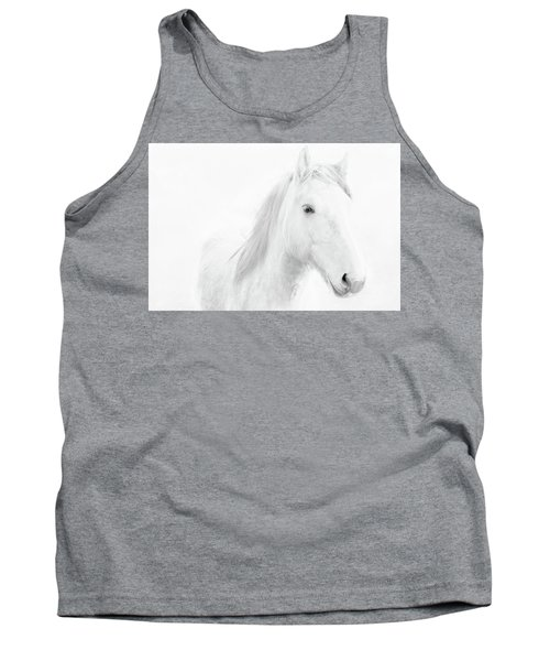 White Horse Tank Top