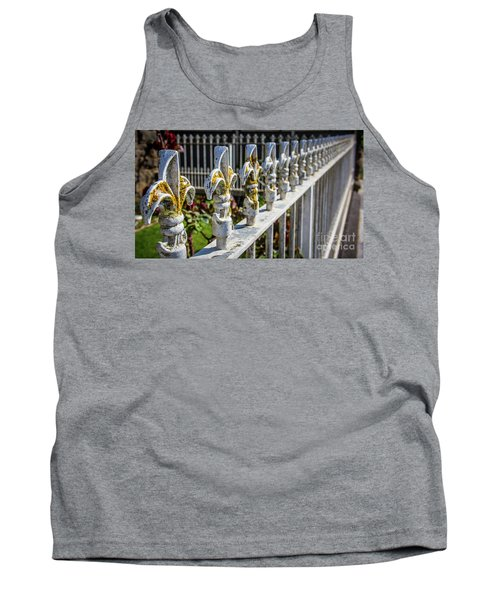 Tank Top featuring the photograph White Iron by Perry Webster