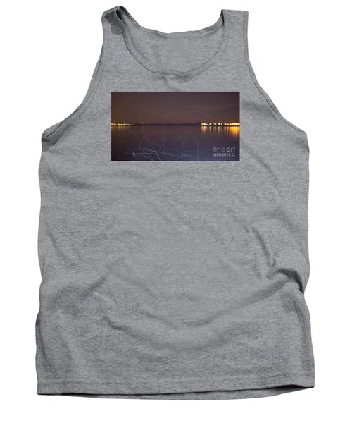 Tank Top featuring the photograph Whoosh Of Mosquitoes In The Night by Odon Czintos