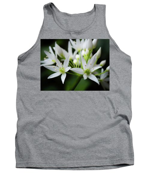 Tank Top featuring the photograph Wild Garlic by Nick Bywater
