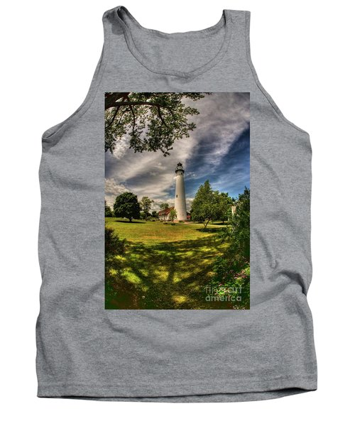 Wind Point Lighthouse Tank Top