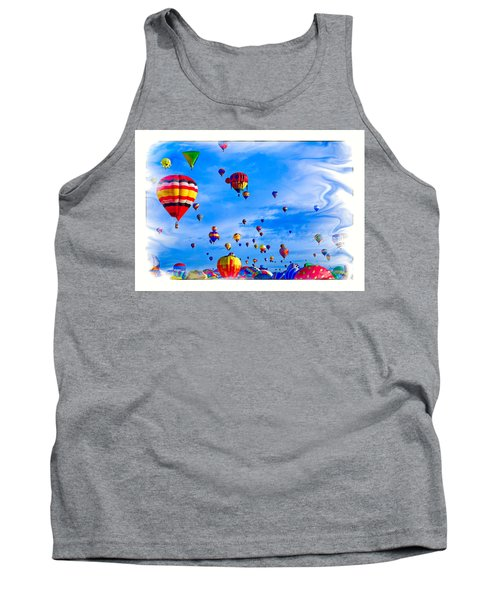 Tank Top featuring the photograph Windy From The Other Side by Gary Baird