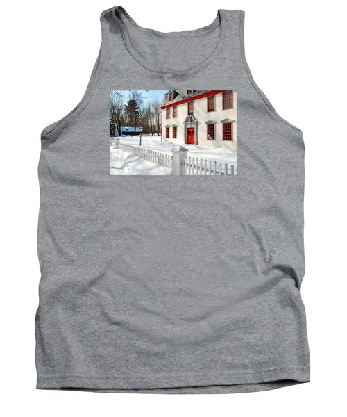 Tank Top featuring the photograph Winter In The Country by James Kirkikis