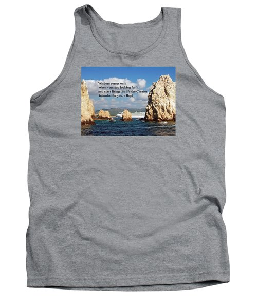 Tank Top featuring the photograph Wisdom by Gary Wonning