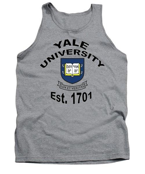 Yale University Est 1701 Tank Top